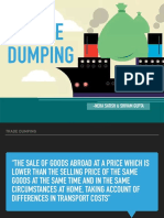 Dumping strategy
