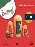 Mercat de Lletres Any 2019