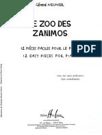 Meunier_le Zoo Des Zanimos