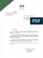 Réponse à Laurence Gayte - Fermeture Ligne Ferroviaire Perpignan-Villefranche