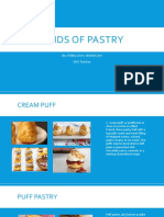 Kinds of Pastry