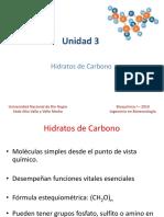 Unidad 3_Hidratos de Carbono