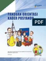 Buku Panduan Orientasi Kader Posyandu