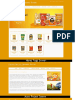 Java, JSP and MySQL Mini Project on Online Grocery Ordering System Screens