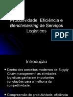Grupo 4 Turma 1 Produtividade Eficiencia e Benchmarking de Servicos Logisticos
