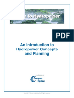 Guide to Hydropower