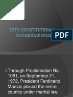 1973 Constitutional Authoritarianism
