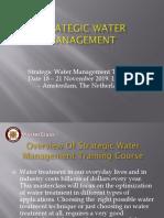 Strategic Water Management in Amsterdam