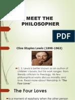 Meet the philosopher