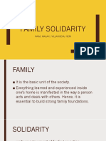 Family Solidarity