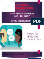 Need for effective communication