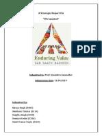 A Strategic Report on ITC