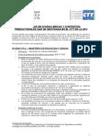 Información Becas Predoctorales 2007