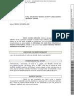 Caso Luis Miranda - Contestação do Sr. Mauro Cavanha Conceição