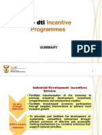 Incentive Presentation Summary