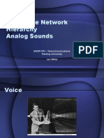 Lecture 2 Telephonenetwork Sound