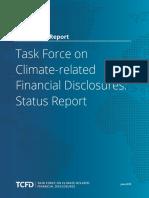2019 Tcfd Status Report Final 053119