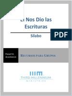 1. Sílabo, Nos Dio Las Escrituras