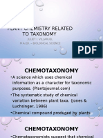 Plant Chemistry Related to Taxonomy.pptx