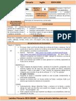 Septiembre - 6to Grado Inglés (2019-2020).docx