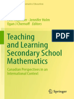 (Advances in Mathematics Education) Ann Kajander, Jennifer Holm, Egan J Chernoff - Teaching and Learning Secondary School Mathematics_ C