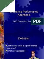 Mastering Performance Appraisals