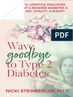 Wave Goodbye to Type 2 Diabetes 16 Holistic Lifestyle Practices 2019