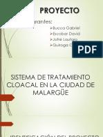 Presentacion de Proyecto Colectora Cloacal