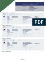 Itinerary for Mr Bernando Baloyes 22SEP2019 BOGOTA-MADRID NM22LZ