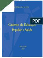 Caderno e Educação Popular e Saúde