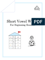 Short Vowels With Story and Charts