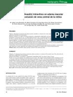 Avastin en Edema Macular por  Ovc