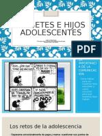 Diabetes e Hijos Adolescentes