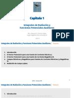 CH 03 Integrales de Radiación y Funciones Potenciales Auxiliares 2019-I