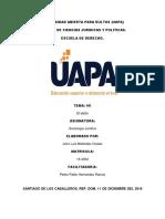 Tarea 7 de Sociologia Juridica