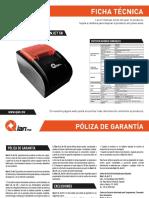 Mini Printer Termica ANJET58 QIT581701 Es