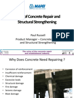 Basics of Concrete Repair and Structural Strengthening