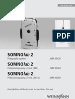 SOMNOlab 2 en Manual