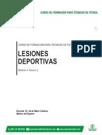 Documento Lesiones Deportivas