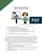 Presentation Skills PDF