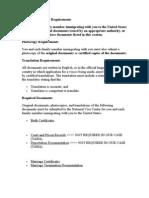 Original Document Requirements