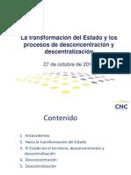 Descentralización proceso Ecuador