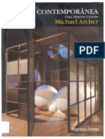 michael archer - arte contemporânea, uma história concisa