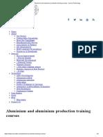 Aluminium and Aluminium Production Training Courses _ Innoval Technology