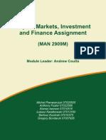 Capital Markets Assignment