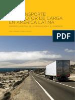 El Transporte Automotor de Carga en América Latina Soporte Logístico de La Producción y El Comercio