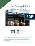 TRIP Report on Syracuse Area Bridges
