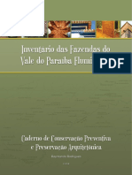Caderno de Conservação Preventiva