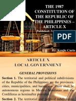 Republic of the Philippines 1987 Constitution