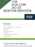 Fluxo Pot Newton Raph
